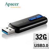 夜殺-Apacer宇瞻 32GB AH354 USB3.0 U形隨身碟