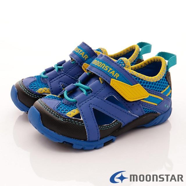 日本Carrot機能童鞋--休閒速乾鞋款-CN1315藍-15-21cm