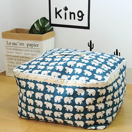 【收納職人】衣物棉被大容量防水防塵袋收納袋50L(好康不挑款2入組)