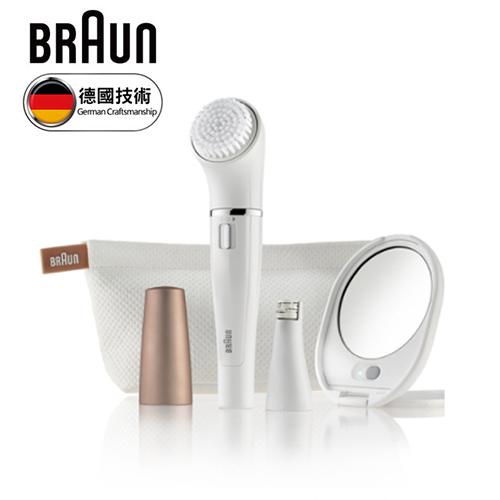 德國 BRAUN 百靈 雙效淨膚儀 SE831