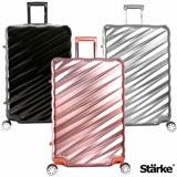 德國設計Starke 薩爾 28吋PC+ABS耐撞TSA海關鎖拉鏈行李箱/旅行箱-三色可選