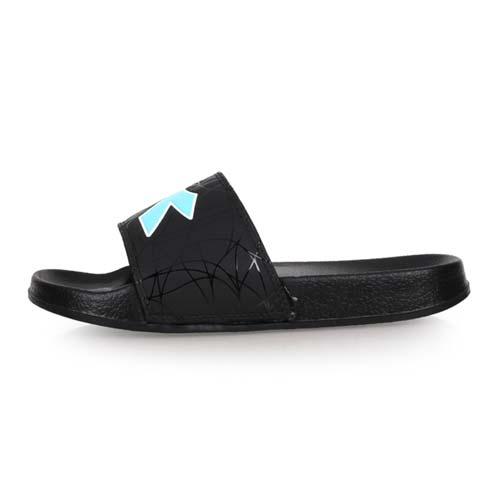 (女) DIADORA 運動拖鞋-游泳 戲水 海邊 海灘 沙灘 黑水藍