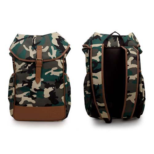 PUMA 後背包-雙肩包 肩背包 旅行包 迷彩 F