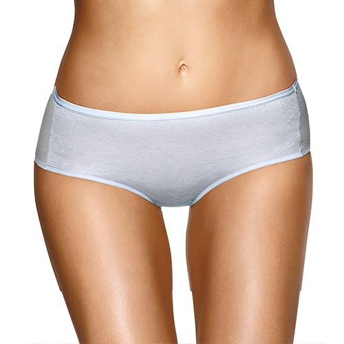 【黛安芬】BODY MAKE-UP 身體底妝系列平口內褲M-EL(輕肌藍)