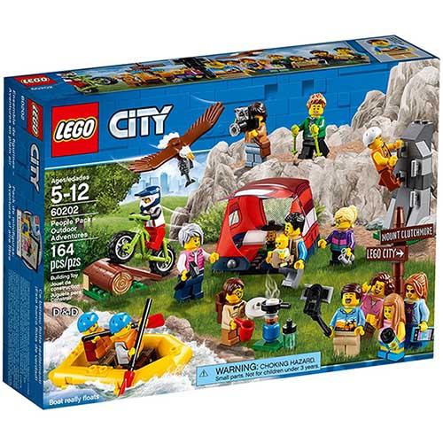 樂高積木 LEGO《 60202 》City 城市系列 - 戶外探險人偶組