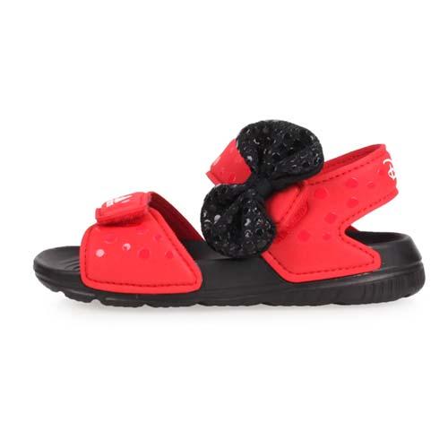 (童) ADIDAS DY M&M ALTASWIM I 女兒休閒涼鞋-愛迪達 紅黑
