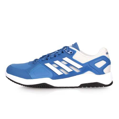 (男) ADIDAS DURAMO 8 TRAINER M 訓練鞋-慢跑 路跑 愛迪達 藍白