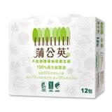 【蒲公英】不砍樹環保抽取衛生紙(100抽*12包*6串)/箱