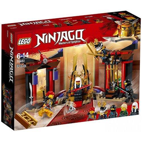 樂高積木 LEGO《 70651 》NINJAGO 旋風忍者系列 - 王座室決戰