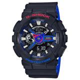 G-SHOCK 時尚雙顯男錶 樹脂錶帶 防水200米 世界時間 GA-110LT-1A