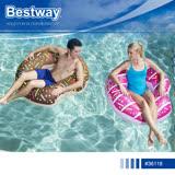 Bestway 36118 造型甜甜圈充氣游泳座圈