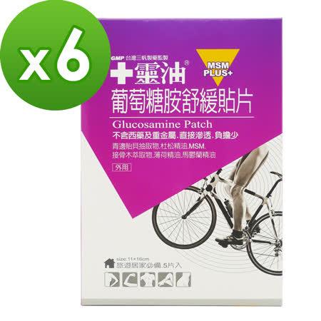 【十靈本舖】 葡萄糖胺舒緩貼片6盒