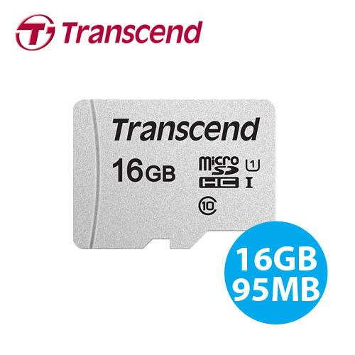 創見 Transcend 300S microSDHC T-Flash 16GB 記憶卡 小卡