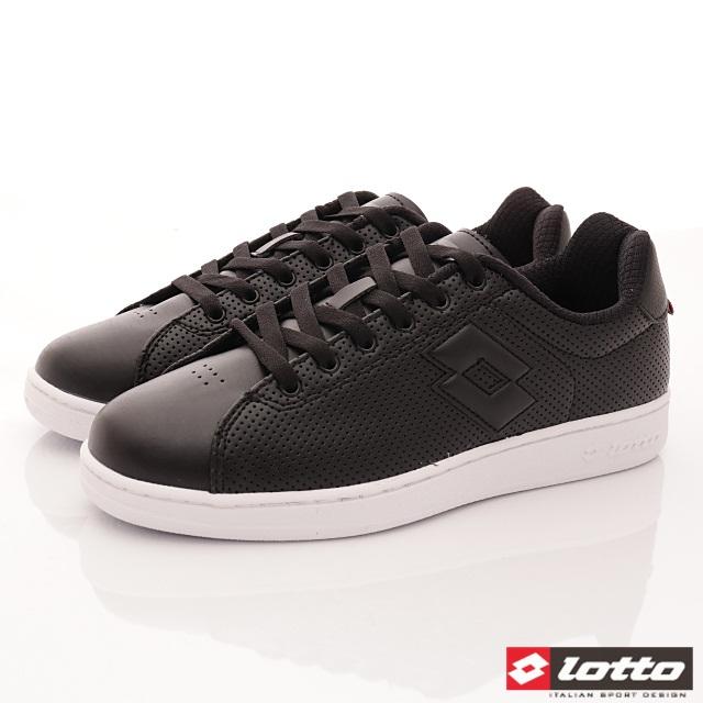 Lotto義大利運動鞋-潮流休閒款-MC6660黑-25.5-29cm