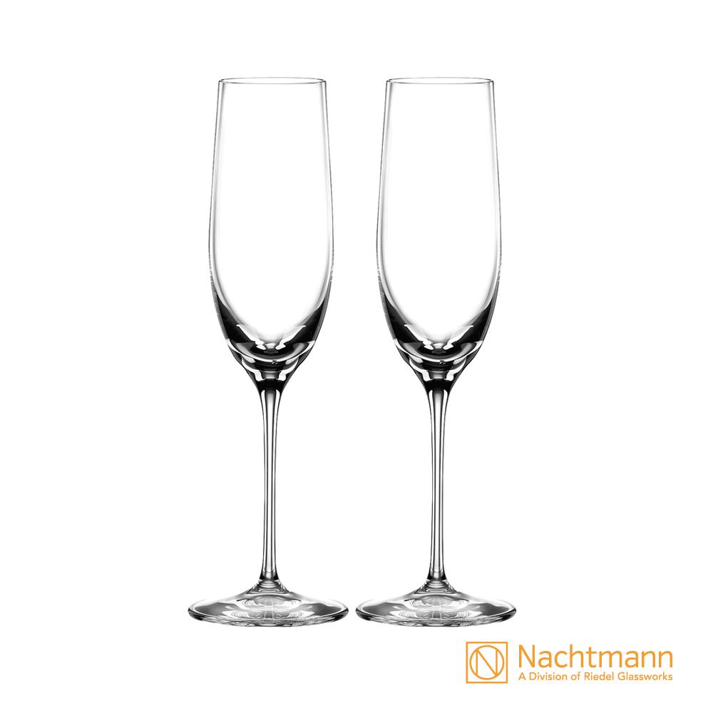 【德國 NACHTMANN】Sparkling Wine氣泡酒香檳水晶玻璃杯-兩入