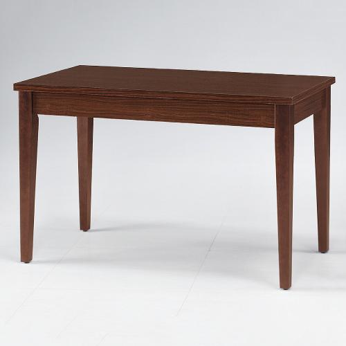 AS-波特胡桃2x4尺餐桌-120x60x75cm(DIY)