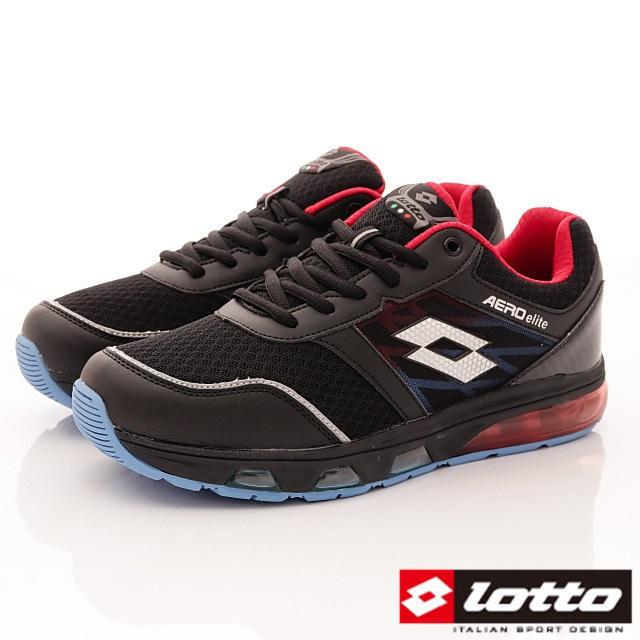 Lotto義大利運動鞋-全氣墊運動款-MR5530黑-25.5-28cm