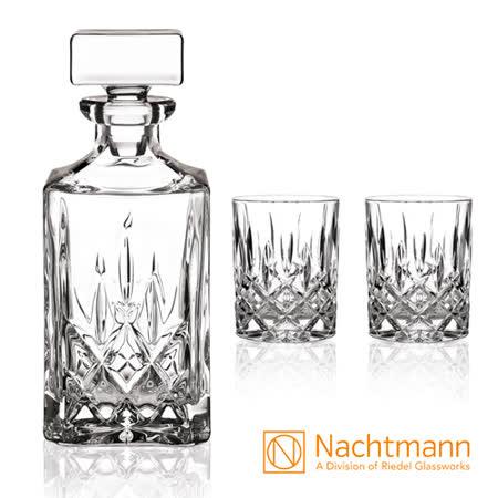 德國Nachtmann 貴族醒酒器+威士忌2杯