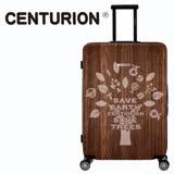 【CENTURION】美國百夫長1978系列29吋行李箱-森林之樹W81(拉鍊箱/空姐箱)