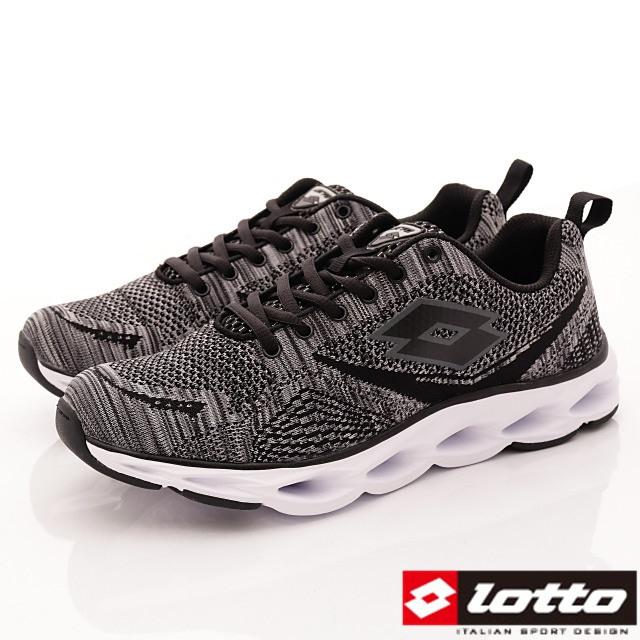Lotto義大利運動鞋-風動避震運動款-MR6288灰-25.5-28cm