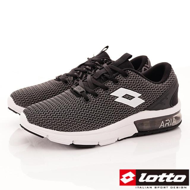 Lotto義大利運動鞋-潮流織網運動款-MR6580灰-25.5-28cm