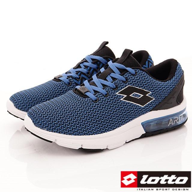 Lotto義大利運動鞋-潮流織網運動款-MR6586深藍-25.5-28cm