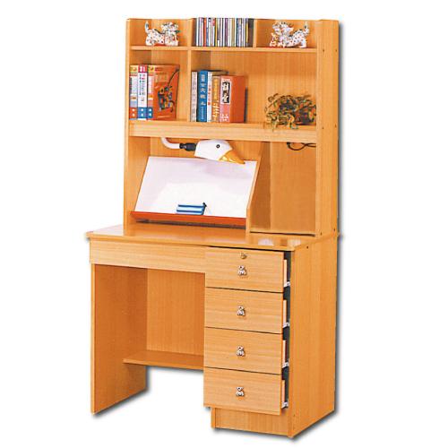 AS-韋爾伯3尺書桌組(全組)-90x57x165cm
