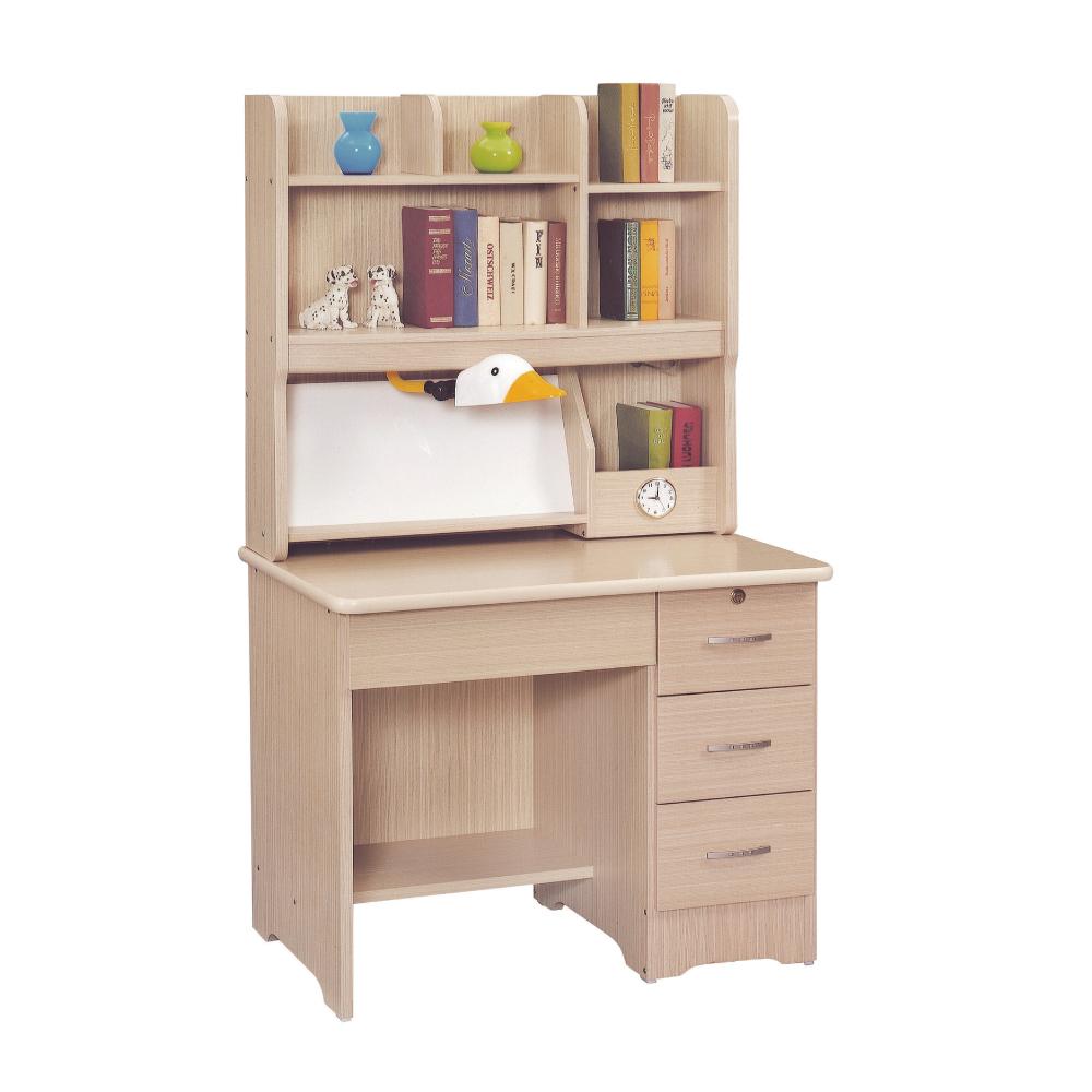 AS-韋納爾白楓木3尺書桌組(全組)-90x60x165cm