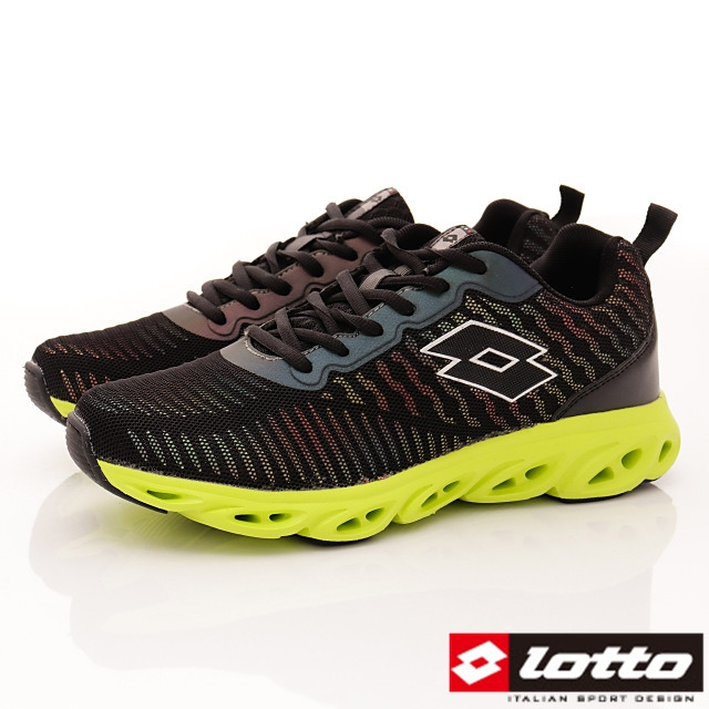 Lotto義大利運動鞋-反光風洞跑鞋-MR6240-25.5-29cm