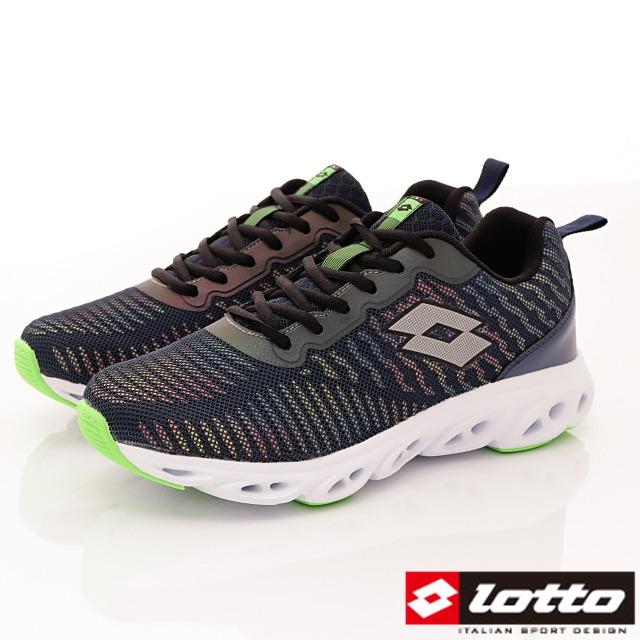 Lotto義大利運動鞋-反光風洞跑鞋-MR6246藍-25.5-29cm