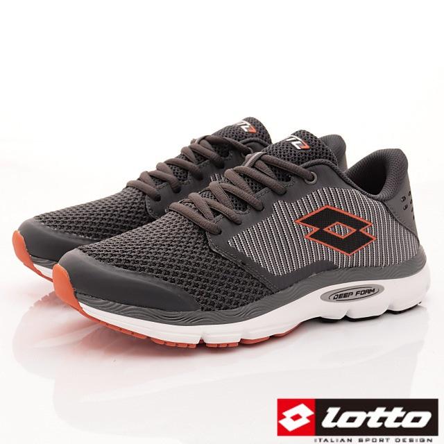 Lotto義大利運動鞋-避震跑鞋-MR5988灰-25.5-29cm