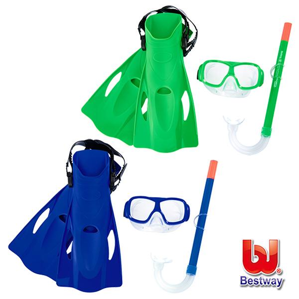 《購犀利》Bestway。兒童浮潛/潛水套裝組 25019