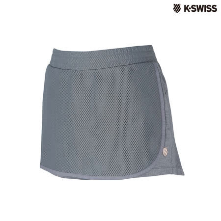 K-Swiss Short Pants運動褲裙-女-灰