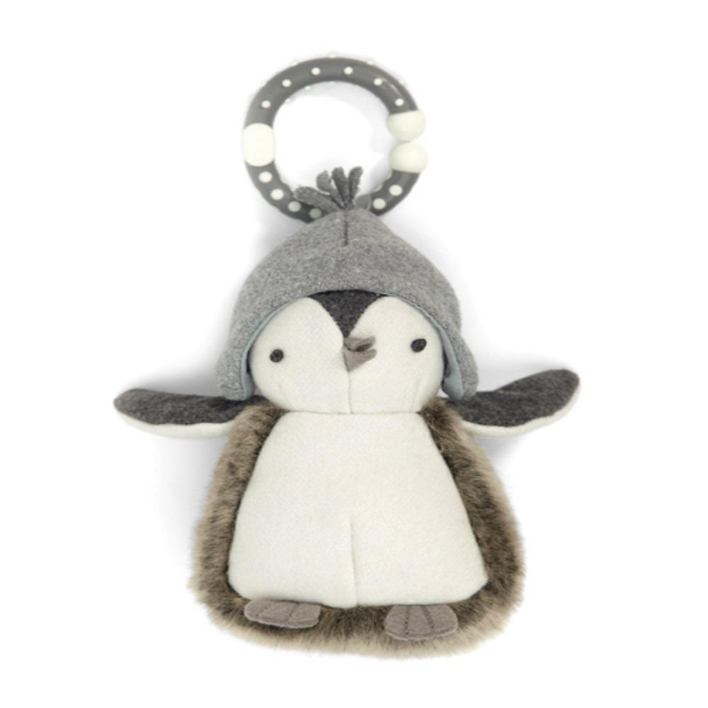 【Mamas & Papas】企鵝想飛搖鈴吊飾玩偶