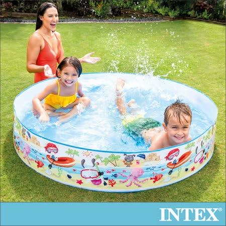 INTEX 免充氣幼童戲水游泳池