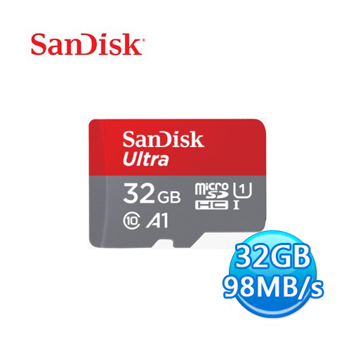 SANDISK Ultra microSD SDHC T-Flash 32GB 記憶卡 小卡 附轉卡