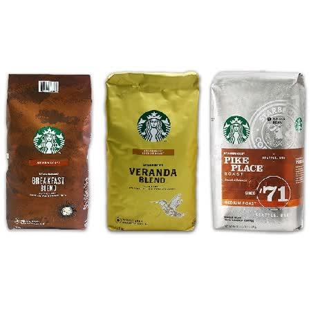 星巴克STARBUCK 咖啡豆1.13公斤(口味任選)