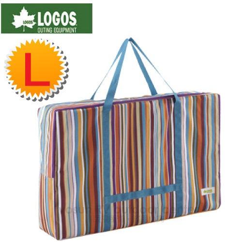 【日本 LOGOS】折疊桌椅條紋收納袋 L號.收納提袋.外出袋.置物袋.購物袋.裝備袋/73189901
