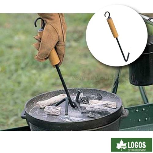 【日本 LOGOS】荷蘭鍋起鍋勾.起鍋鉗.提鍋蓋專用把手.鍋蓋提把/保護您的雙手不被燙傷/ 81062202