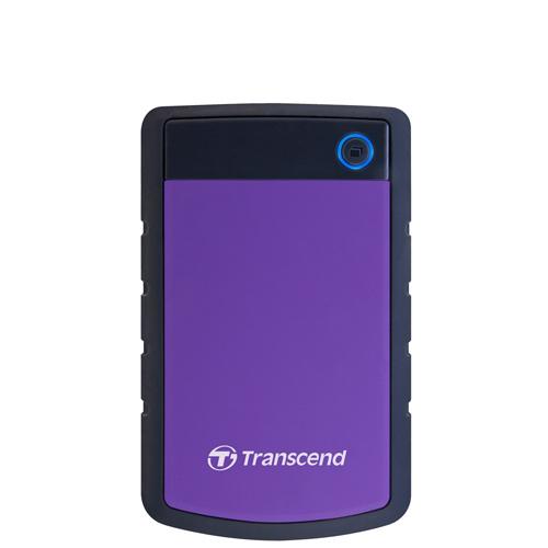 Transcend 創見 Storejet 25H3P 1TB USB3.1 2.5吋 軍規級抗震外接硬碟《紫》