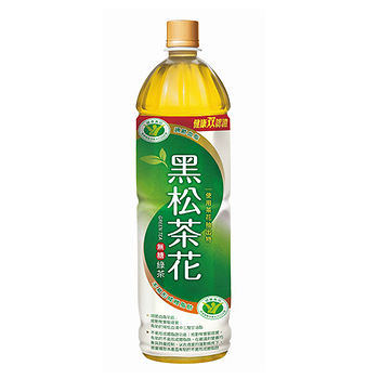 黑松茶花綠茶1230ML