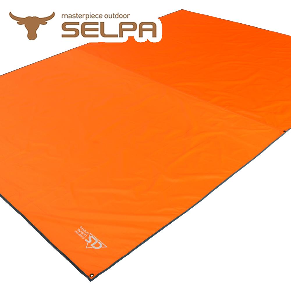【韓國SELPA】多用途防水地墊/野餐墊/地布/天幕(兩色任選)