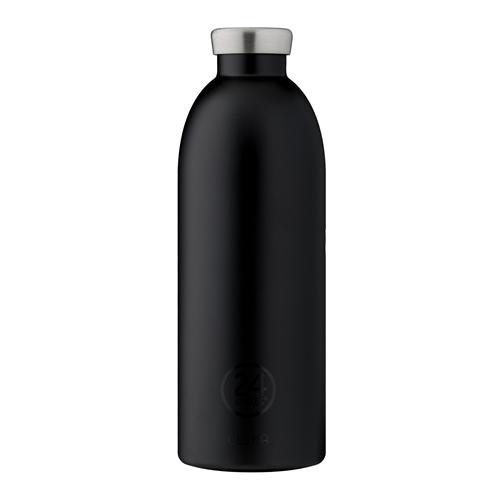義大利 24Bottles 不鏽鋼雙層保溫瓶 850ml - 紳士黑