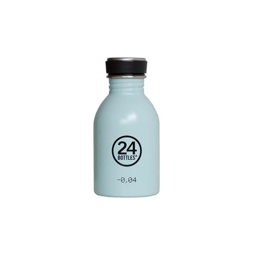 義大利 24Bottles 城市水瓶 250ml - 天空藍