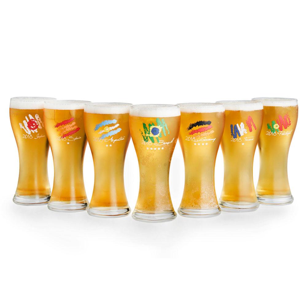 2018世足限定 台灣製啤酒杯330ML
