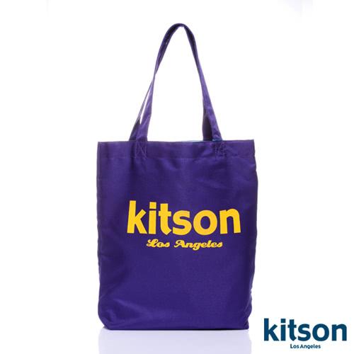 Kitson 經典LOGO購物袋/托特包 紫