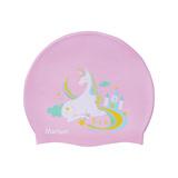≡MARIUM≡ 矽膠泳帽 - 彩虹獨角獸 MAR-8626