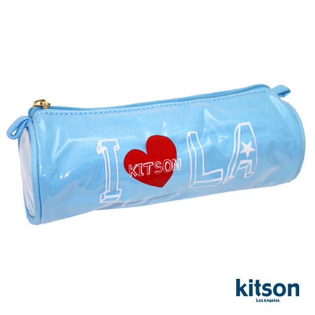 Kitson  I Heart Kitson 防水化妝包 (天空藍)