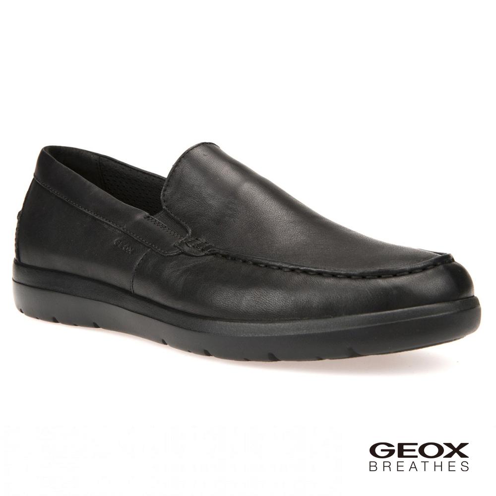 GEOX - U LEITAN C 紳士鞋 皮鞋 黑色(U743QC000859999)