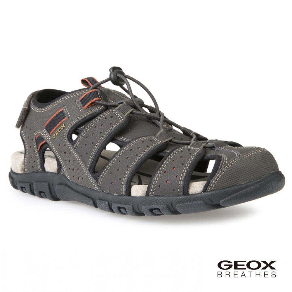 GEOX - U S.STRADA B 多功能涼鞋 深棕色(U6224B000506024)